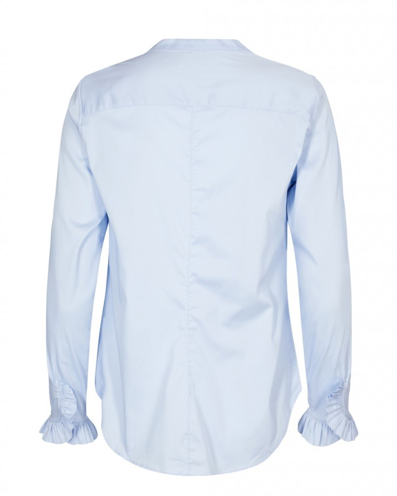 3de71a2d Mos Mosh Mattie Shirt - Light Blue | at home