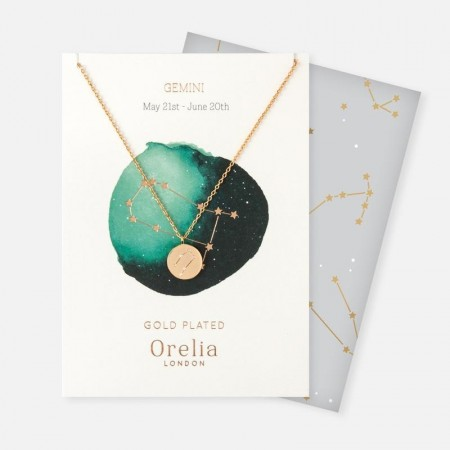 Orelia Gemini Constellation Necklace