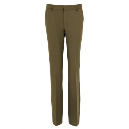 Neo Noir Cassie F Pant - Dusty Army