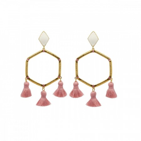 Marte Frisnes Cooper Earrings - Blush