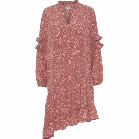 Continue Sissel Dress -  Rust