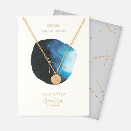 Orelia Cancer Constellation Necklace