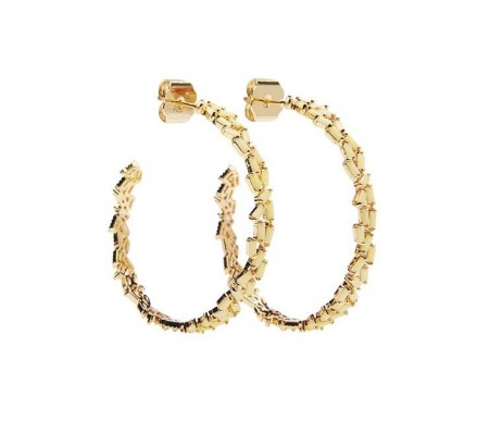 Pico Mary Crystal Studs - Yellow Opac