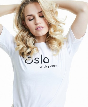 Line Of Oslo Jamie T-Shirt - White