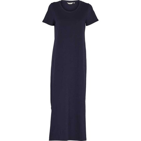 Basic Apparel Rebekka Dress Organic Gots - Navy