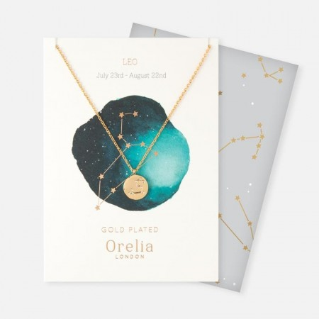 Orelia Leo Constellation Necklace