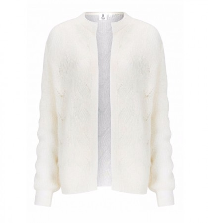 Knit-ted Essentials Olivia Cardigan - Ivory