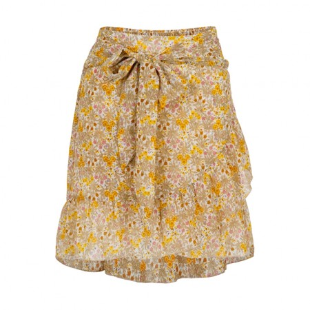 Neo Noir Bella Chiffon Skirt - Yellow