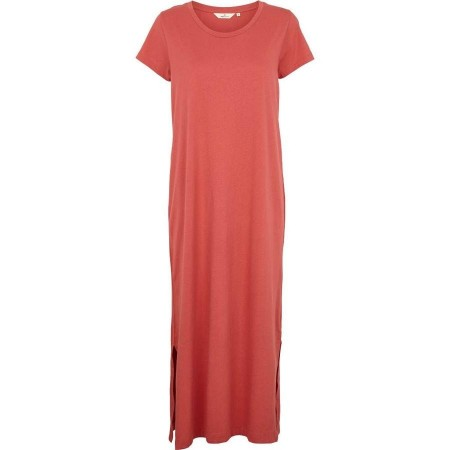 Basic Apparel Rebekka Dress Organic Gots - Mineral Red
