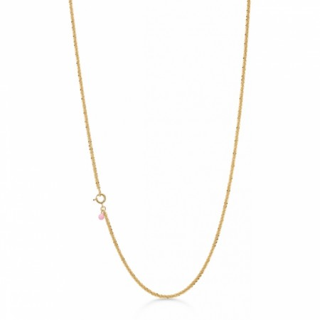 Enamel Necklace, Dashing - Gold