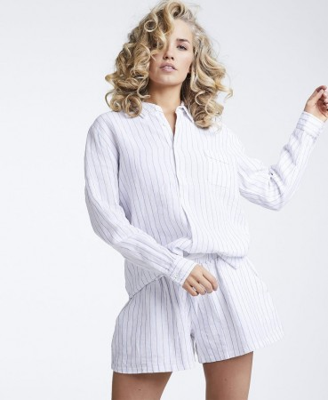 Line Of Oslo Mona Stripe Bluse