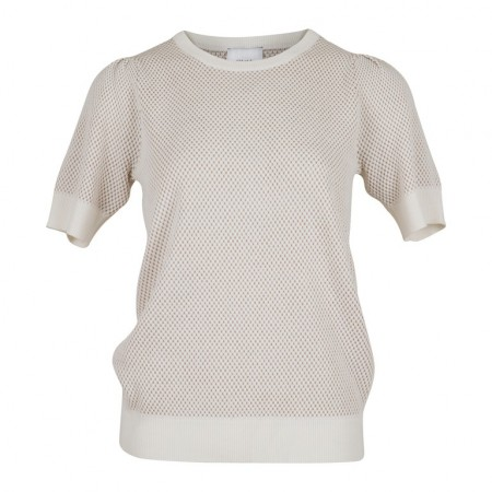 Neo Noir Mary Knit Tee - Off-White