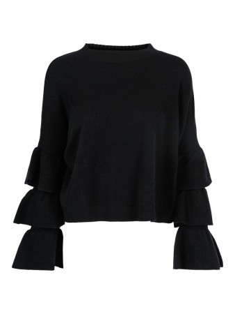 ella&il Sigrid Wool Sweater - Black
