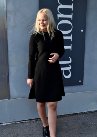 ella&il Cecilie Merino Dress - Black