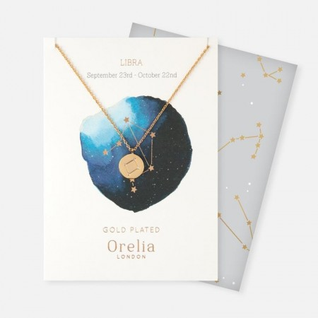 Orelia Libra Constellation Necklace