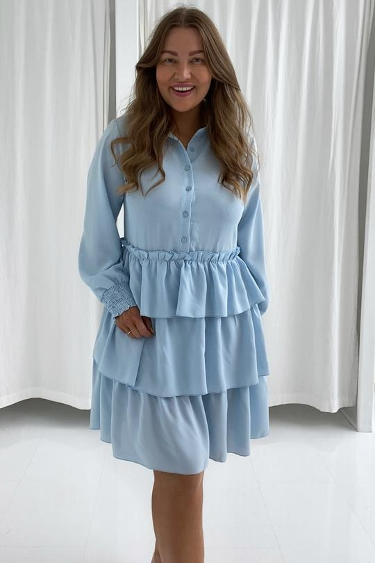 BY IC Milana Dress - Light Blue