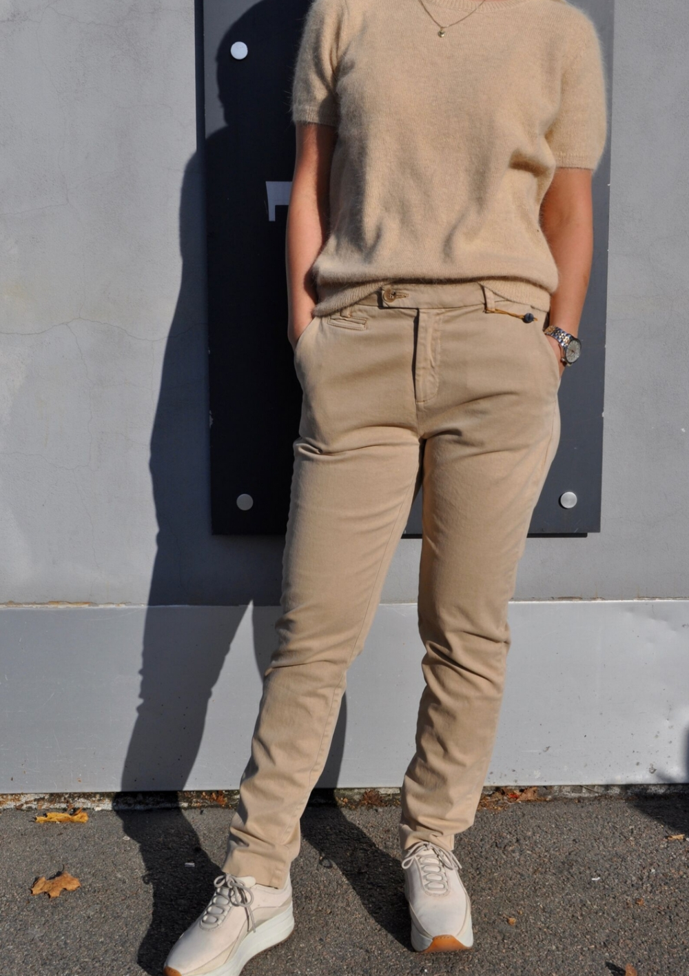 Pieszak Anika Chino Colours - Camel