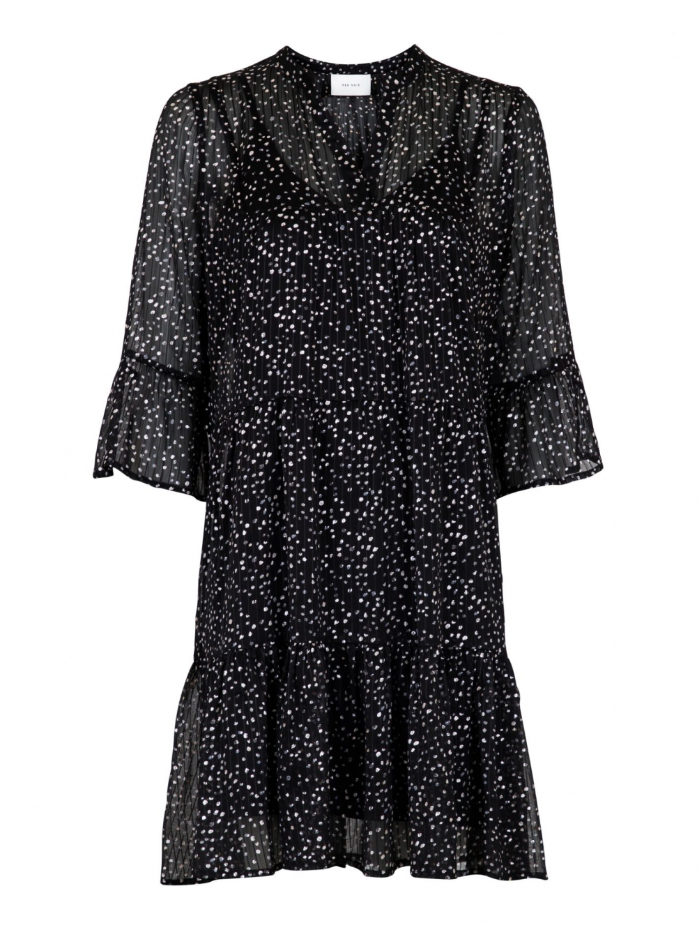 Neo Noir Gunvor Sparkle Dress Black