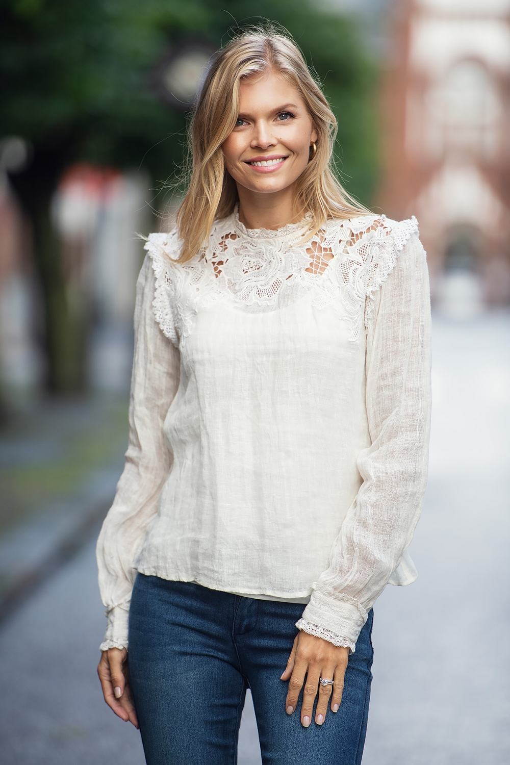 Ane Mone Blouse - Off-White