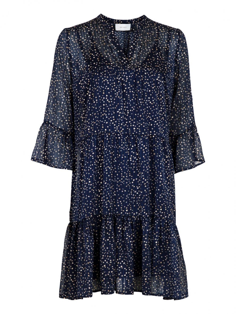 Neo Noir Gunvor Sparkle Dress Navy