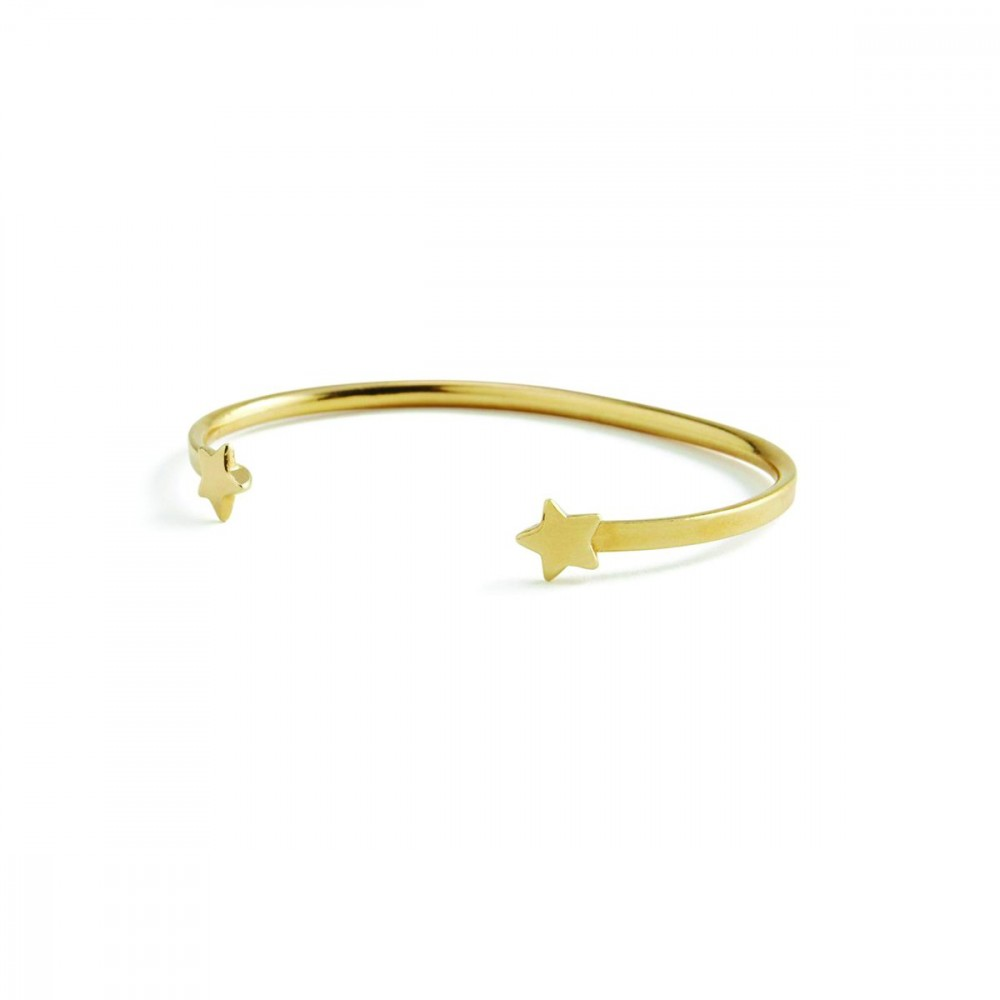 Marte Frisnes Dakota Bangle - Gold