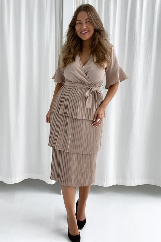 BY IC Liva Dress - Beige