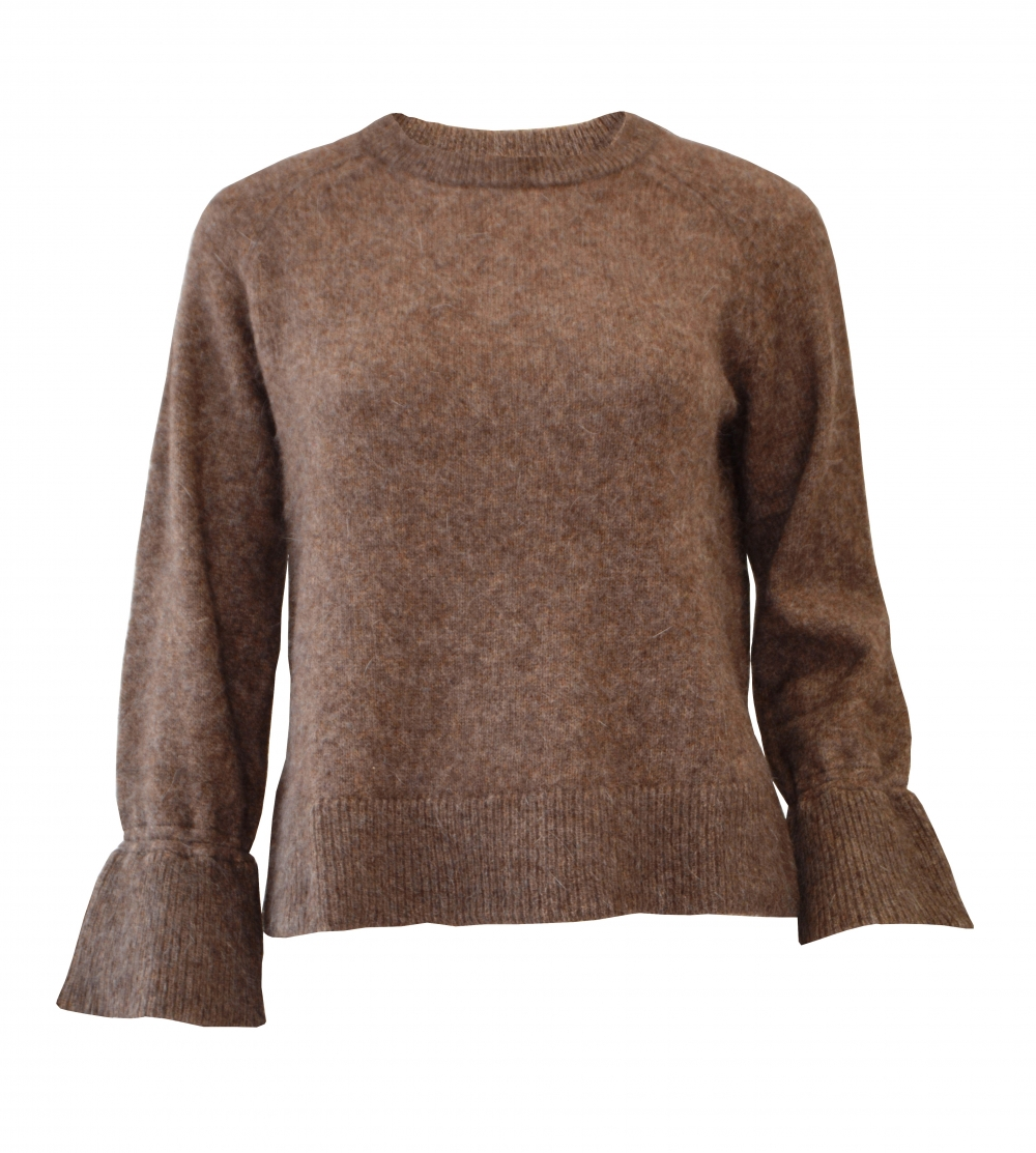 Ane Mone T shirt Pullover Camel | at home