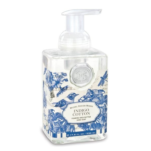 Phika Indigo Cotton Foaming Soap