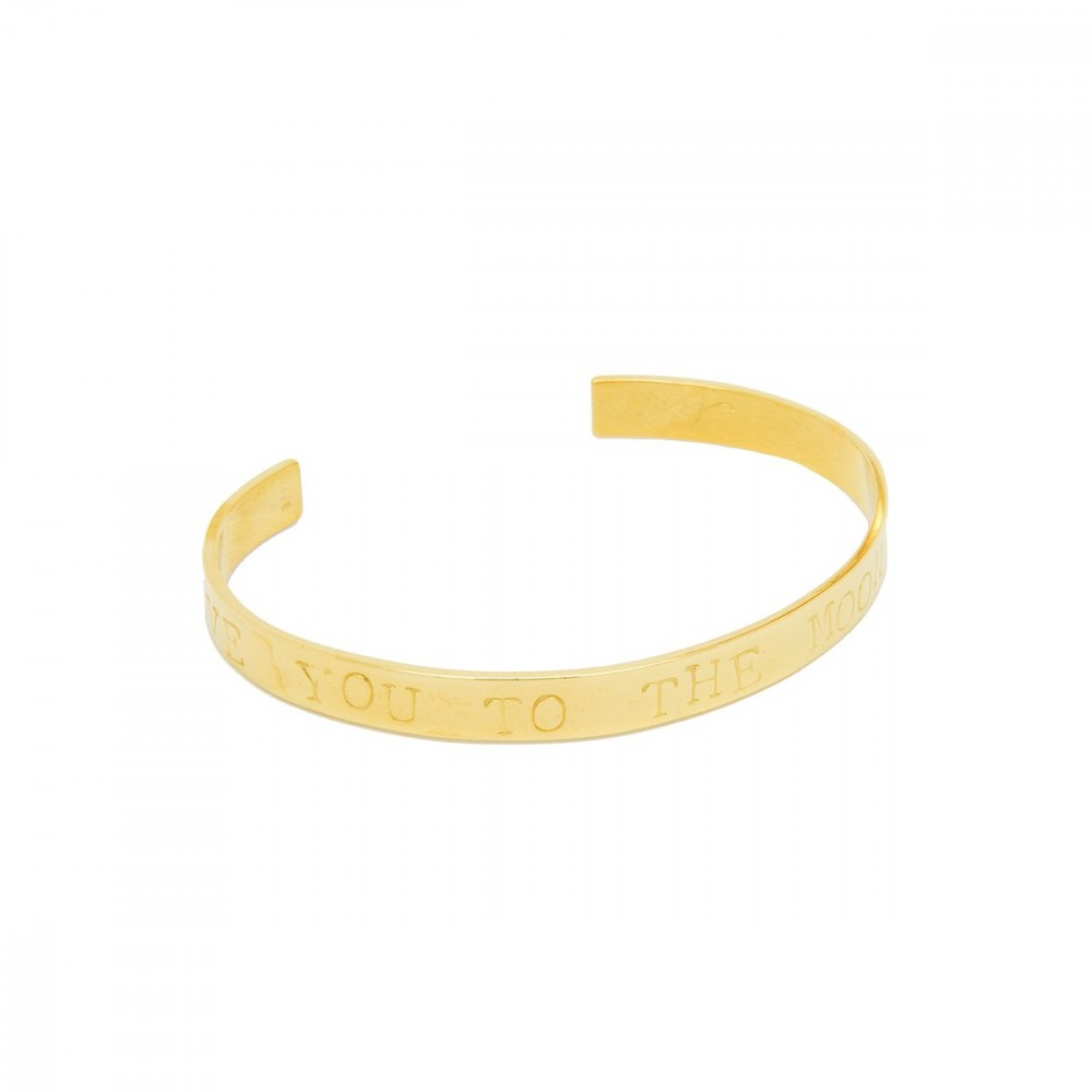 Marte Frisnes Story Bangle Moon & Back