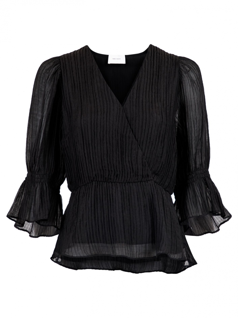 Neo Noir Finga Blouse - Black